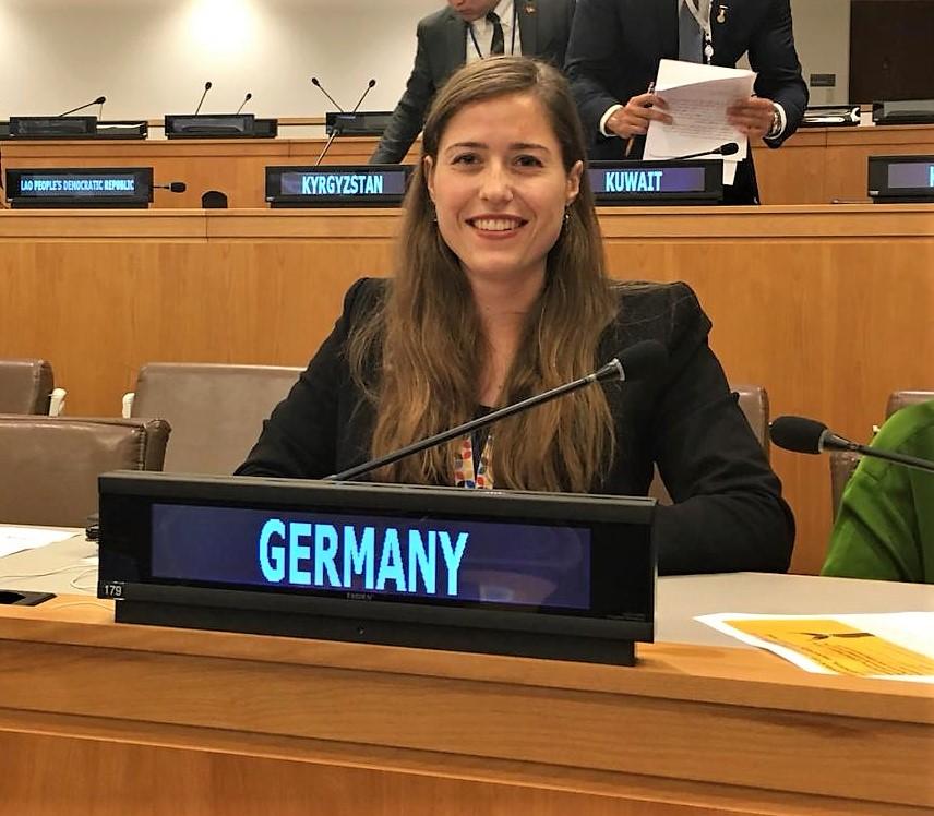 Antonia Kuhn berichtet: Als deutsche Jugenddelegierte zur UN-Generalversammlung